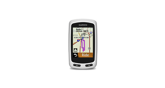 Garmin Edge Touring Plus GPS grijs/wit